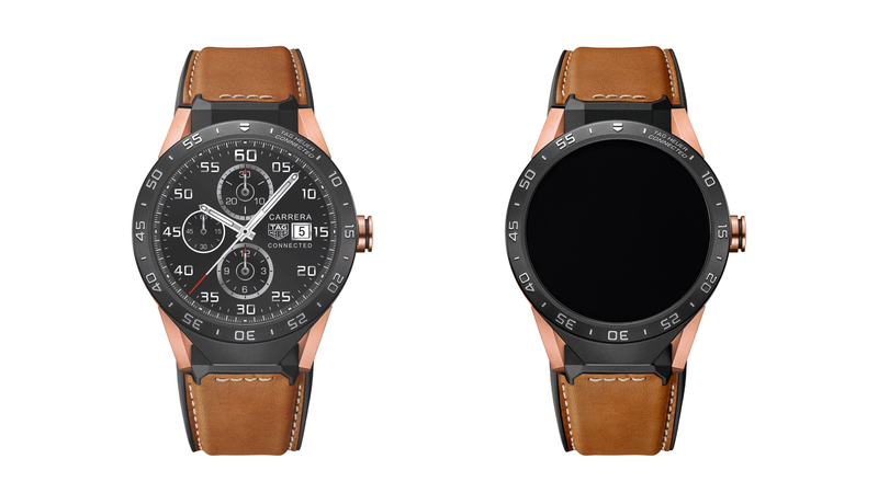 Introducing: The TAG Heuer Connected Watch Now In Solid Rose Gold (For $9,900)