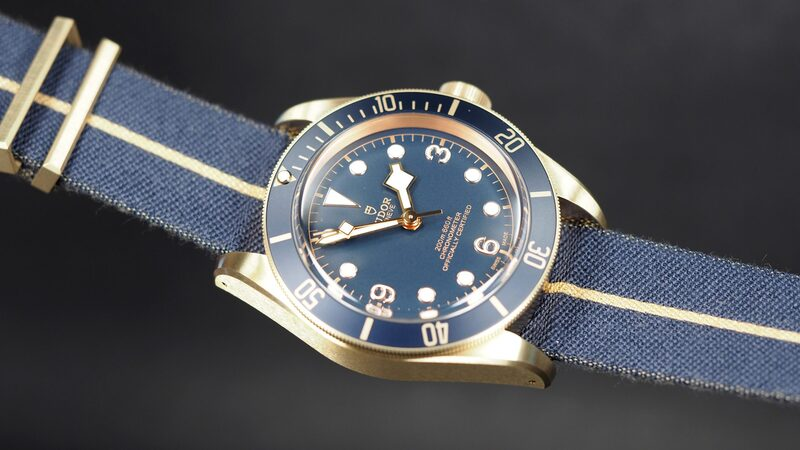 Introducing: The Tudor Black Bay Bronze Blue Special Edition For Bucherer