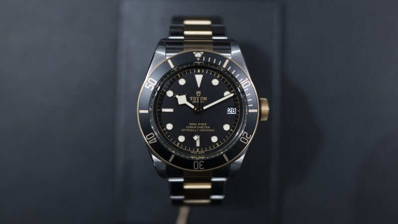 Introducing: The Tudor Heritage Black Bay Steel And Gold