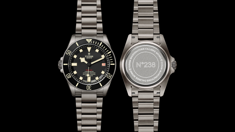 Introducing: The Tudor Pelagos LHD, A Left-Handed 500 Meter Diver In Titanium With In-House Movement (Details, Pricing, Availability)