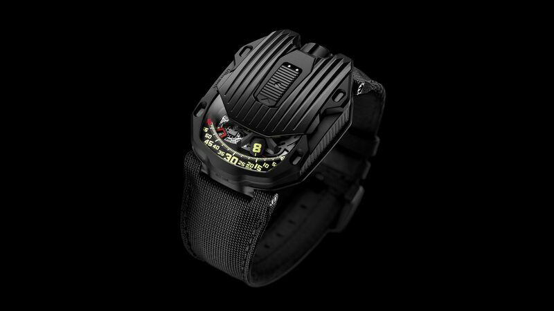 Introducing: The Urwerk UR-105 CT Streamliner