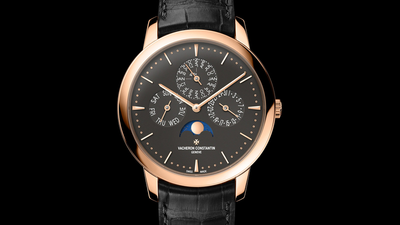 Introducing: The Vacheron Constantin Patrimony Perpetual Calendar In Pink Gold With A Slate Grey Dial