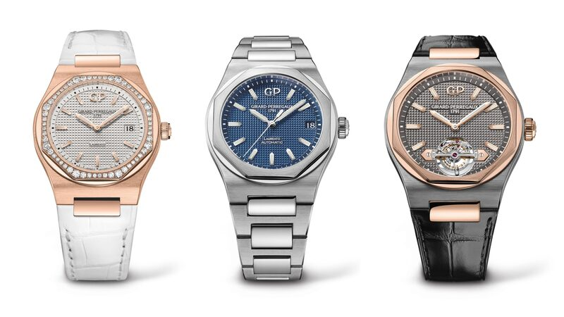 Introducing: The (Very Large) Girard-Perregaux Laureato Collection, From 34mm Quartz To 45mm Tourbillon