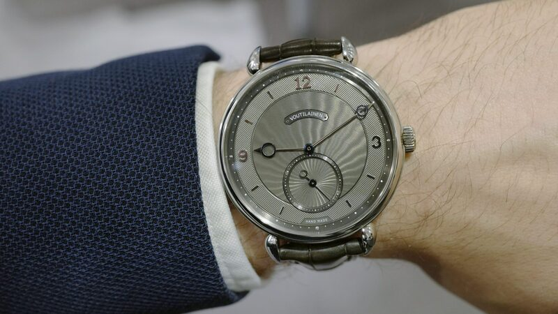 Just Because: A Piece Unique 44mm Stainless Steel Vingt-8 From Kari Voutilainen