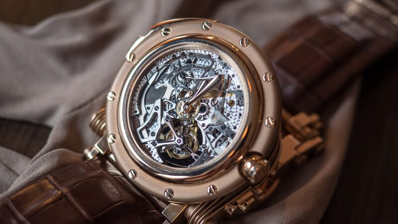 Just Because: The Manufacture Royale Opera Tourbillon Minute Repeater And Its Crazy Expanding Case