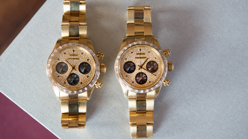Just Because: Two Of The Most Expensive, Most Rare, And Most Absurd Rolex Daytonas In The World, Next To Each Other (Reference 6270 x2!)