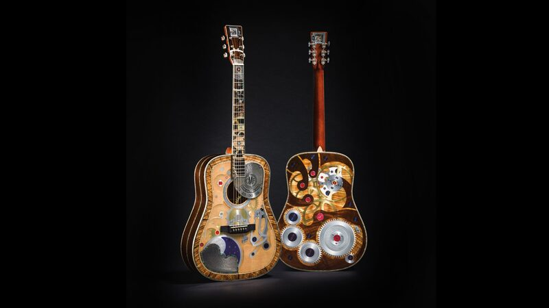 Martin Unveils Its Two Millionth Guitar, A Crazy Horology-Themed Creation With An RGM Watch In The Headstock (And A More Consumer-Friendly Limited Edition Too)