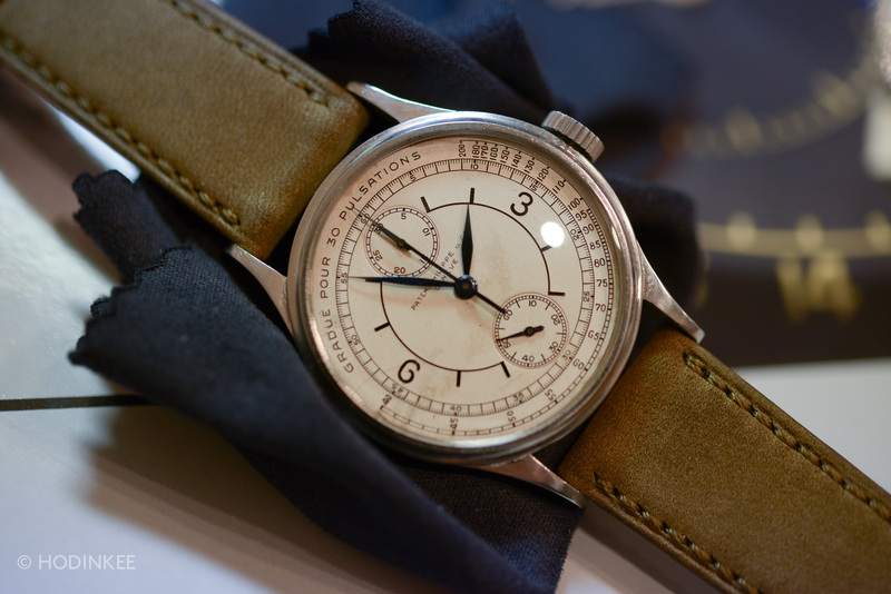 Patek Philippe Reference 130 Mono-Pusher Chronograph In Steel Sells For $5 Million, And Other Such Stories From The First Phillips Geneva Watch Auction