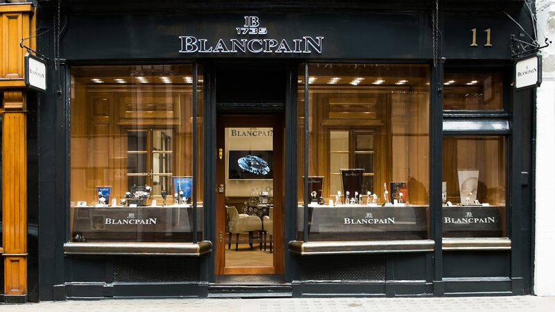 Photo Report: Inside The Blancpain Boutique In London