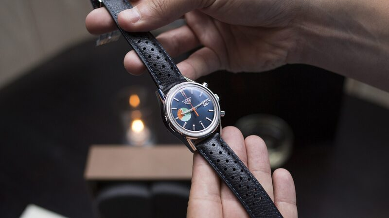 Photo Report: The TAG Heuer Limited Edition Carrera Skipper For  Launch Party