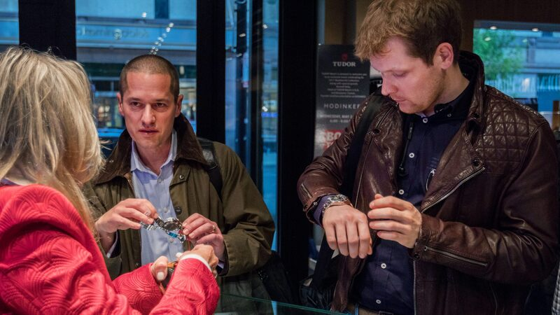 Photo Report: The Tudor Baselworld Novelties At Swiss Fine Timing In Chicago