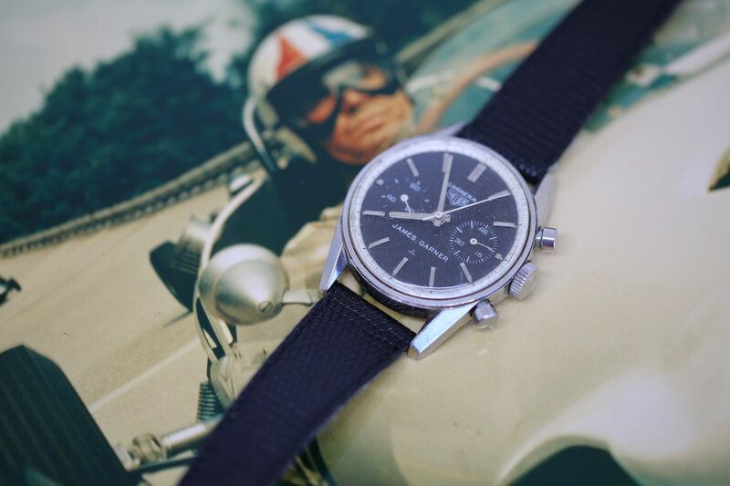 Recommended Reading: The Fascinating Story Of Actor James Garner's Special Heuer Carrera