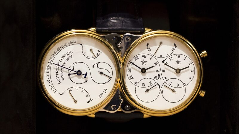 The First Watches To Account For Leap Seconds, From Hoptroff London