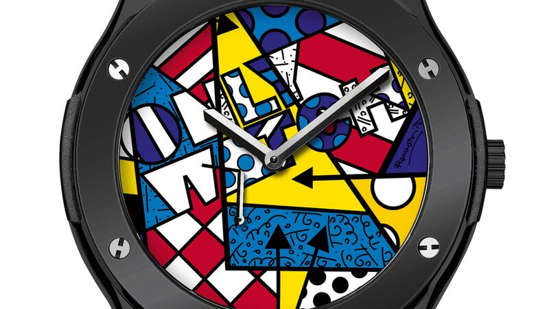 The Hublot Classic Fusion Only Watch Britto For The Only Watch Auction, 2015