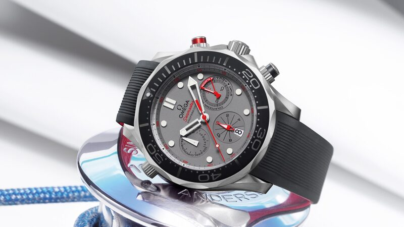The Omega Seamaster Diver 300M ETNZ, To Commemorate The 35th America's Cup