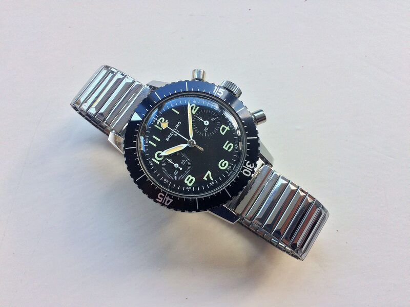 The Strange Story Of 40 Military-Issued Breitling Reference 817 Chronographs Auctioned By The Italian Government For A Mystery Price