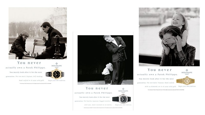 The Untold Story Of Watchmaking's Most Iconic Advertising Campaign: The 'Generations' Campaign Of Patek Philippe