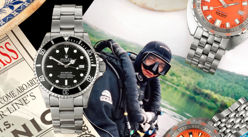 Watch Collector PSA: Help The Son Of Legendary Diver Carl Spencer Find The Watch That Belonged To His Father (Please Share – UPDATED)