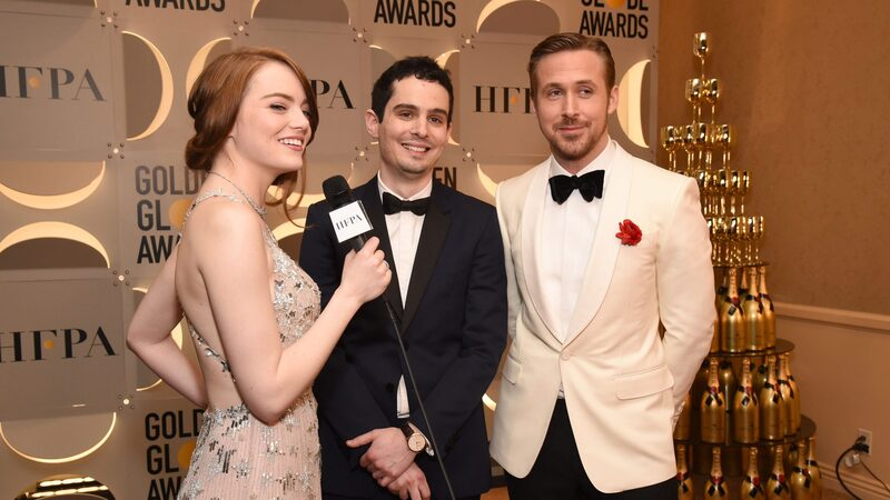 Watch Spotting: 'La La Land' Director Damien Chazelle Sets A Golden Globes Record With The Jaeger-LeCoultre Master Grande Ultra Thin Small Second On His Wrist