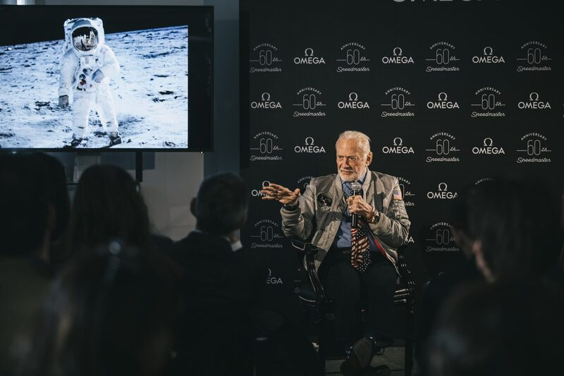 Watch Spotting: Buzz Aldrin Rocking Three Omega Watches At Once