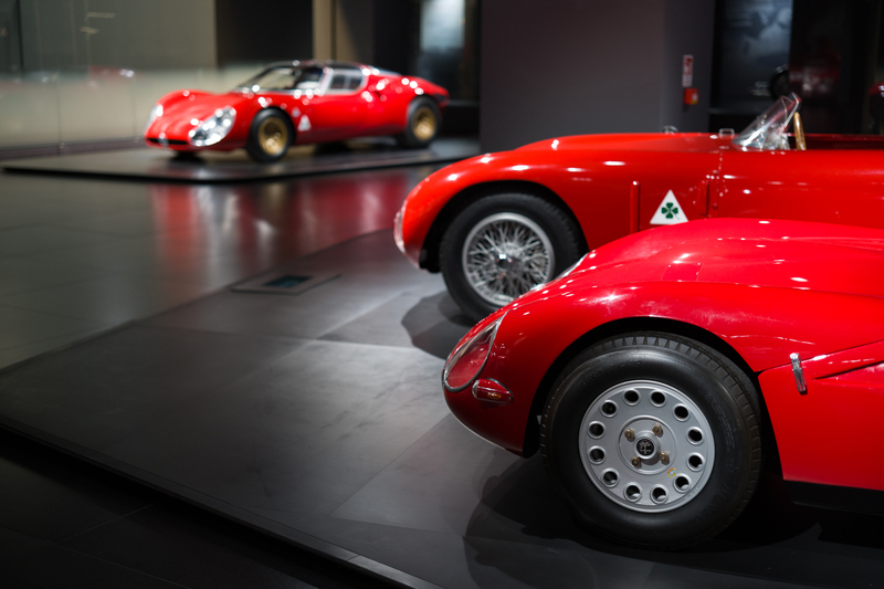 Weekend Report: Inside The Alfa Romeo Museum